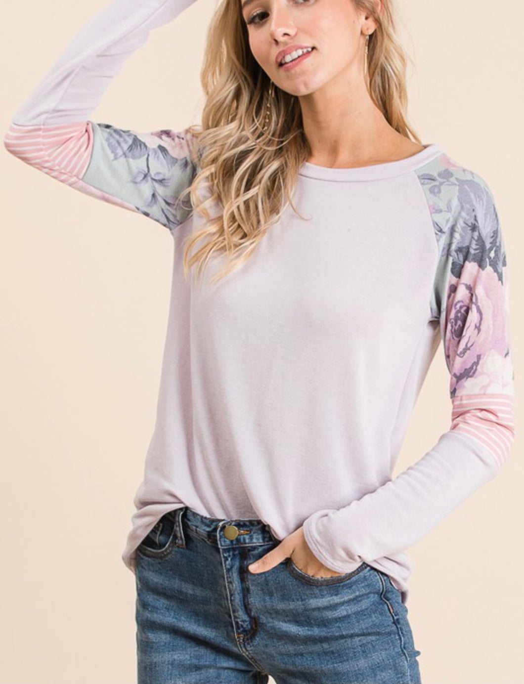 Leona Floral Top