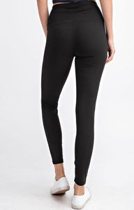 Mason Leggings Black {curvy}