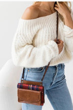 Load image into Gallery viewer, Buffalo Plaid Crossbody