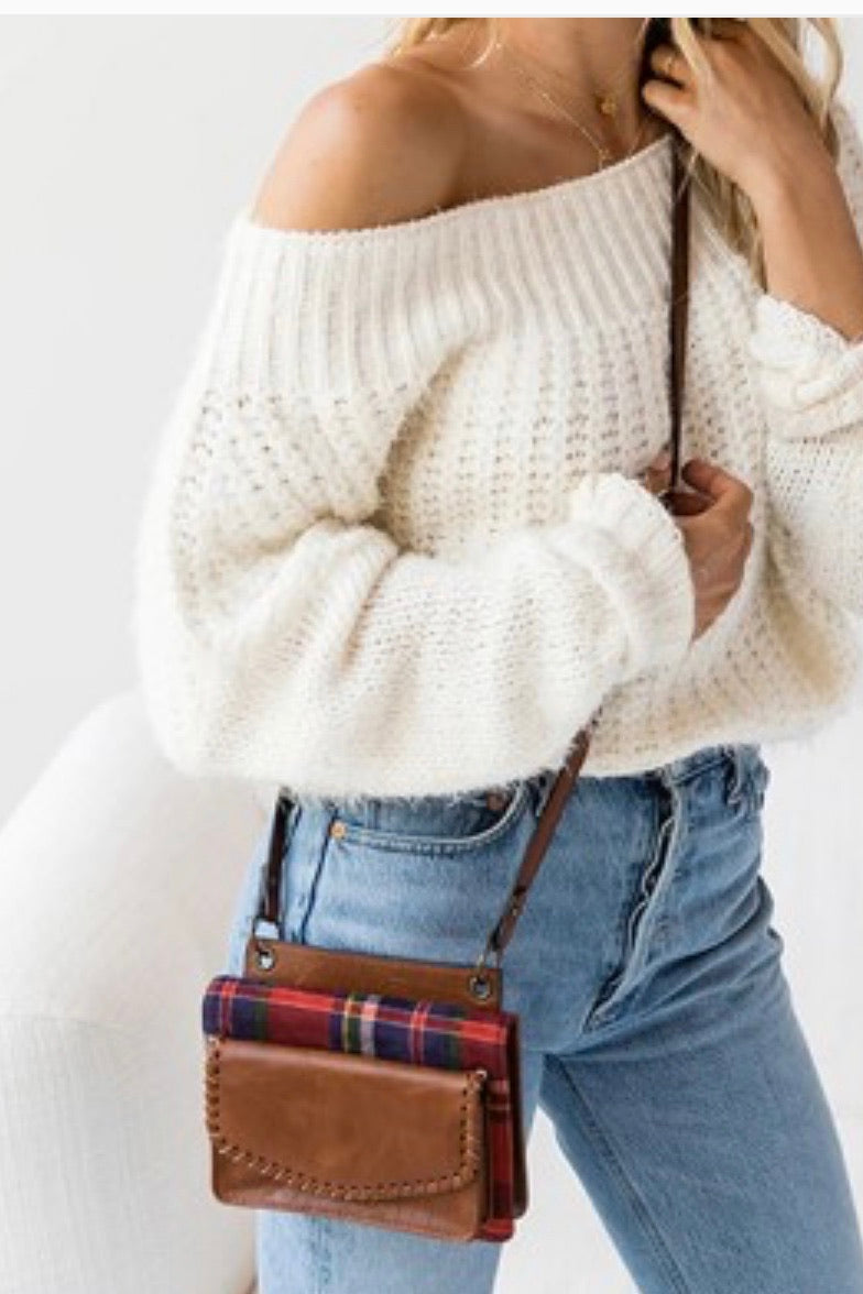 Buffalo Plaid Crossbody