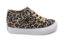 Load image into Gallery viewer, Leopard Wedge Sneaker