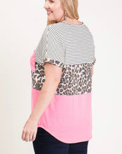 Load image into Gallery viewer, Better Off Leopard Curvy Top