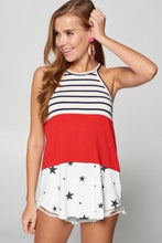 Load image into Gallery viewer, Stars and Stripes Tank