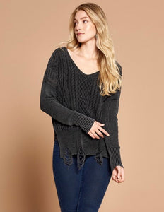 Kingston Distressed Sweater