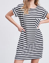 Load image into Gallery viewer, Lovely Thoughts Striped Dress