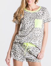 Load image into Gallery viewer, Lazy Days Leopard Lounge Tee