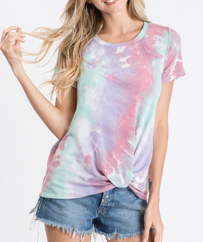 Moving On Tie Dye Tee