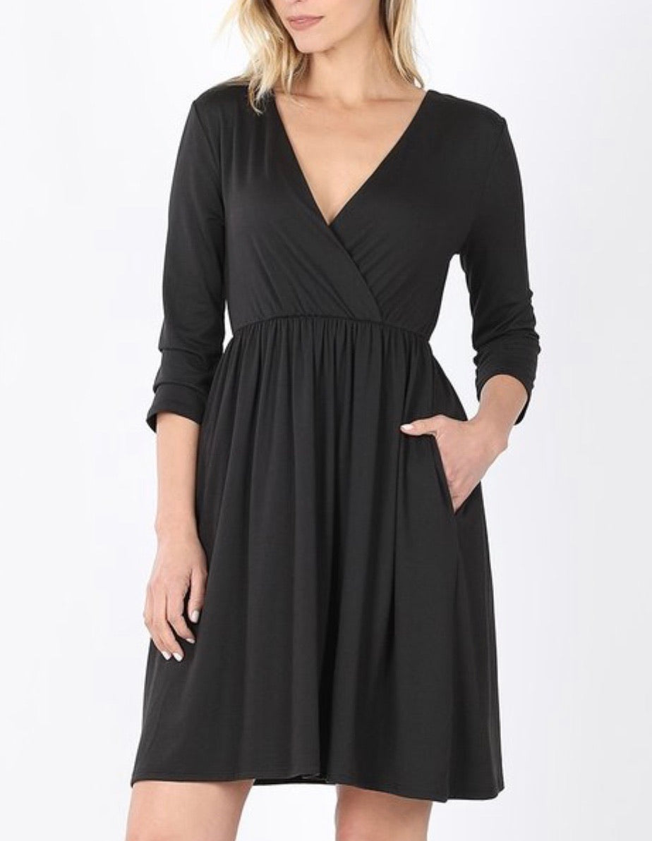 Night Out Wrap Dress