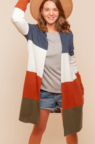 Fall Breeze Curvy Cardigan