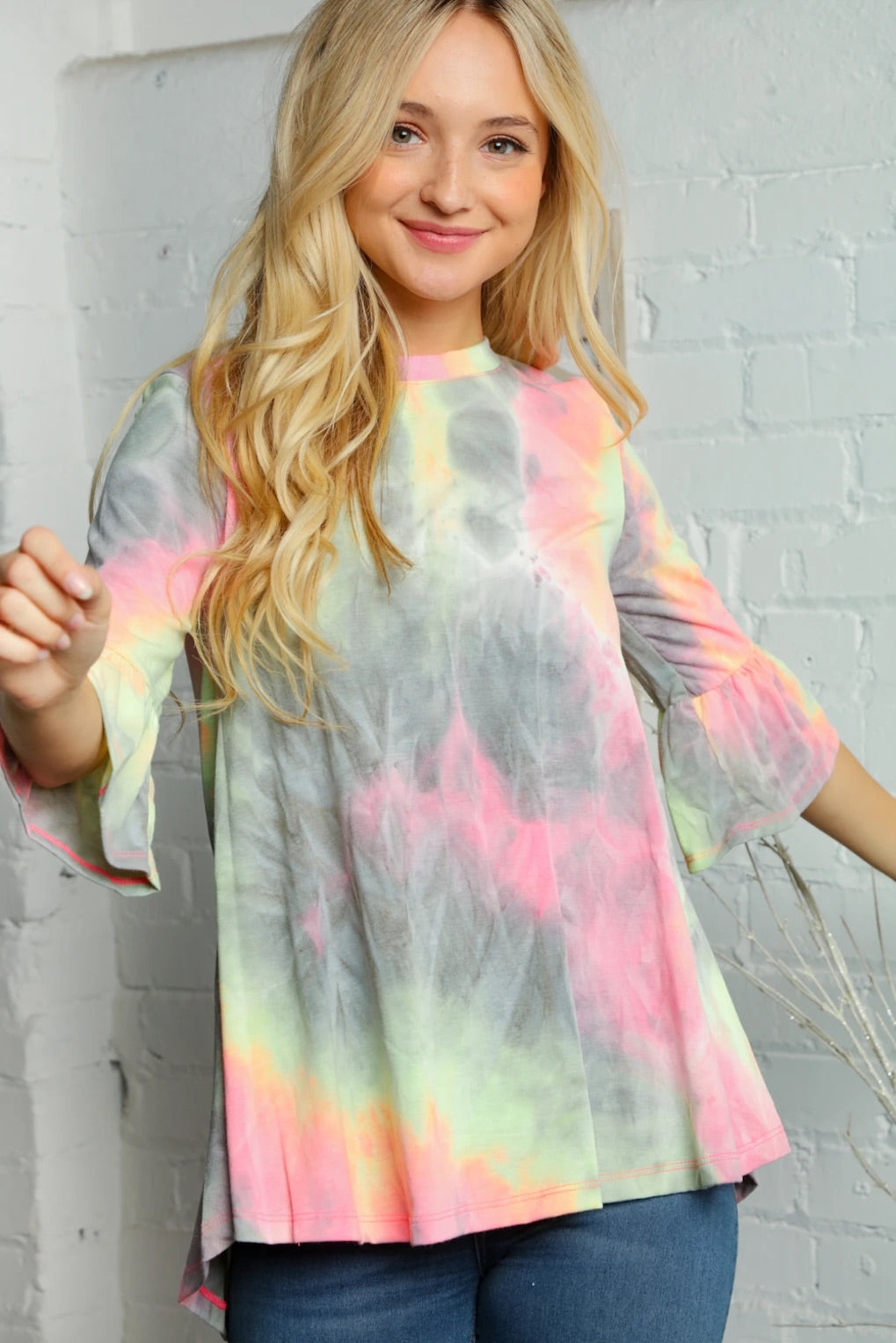 Already Gone Tie Dye Top