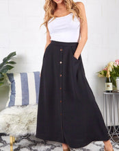 Load image into Gallery viewer, Button Up Maxi Skirt