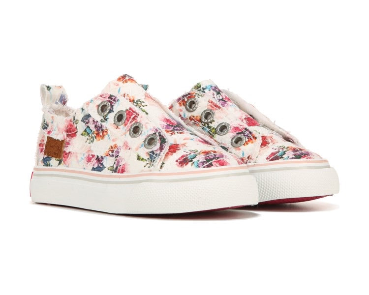 Toddler Bright Floral Sneaker