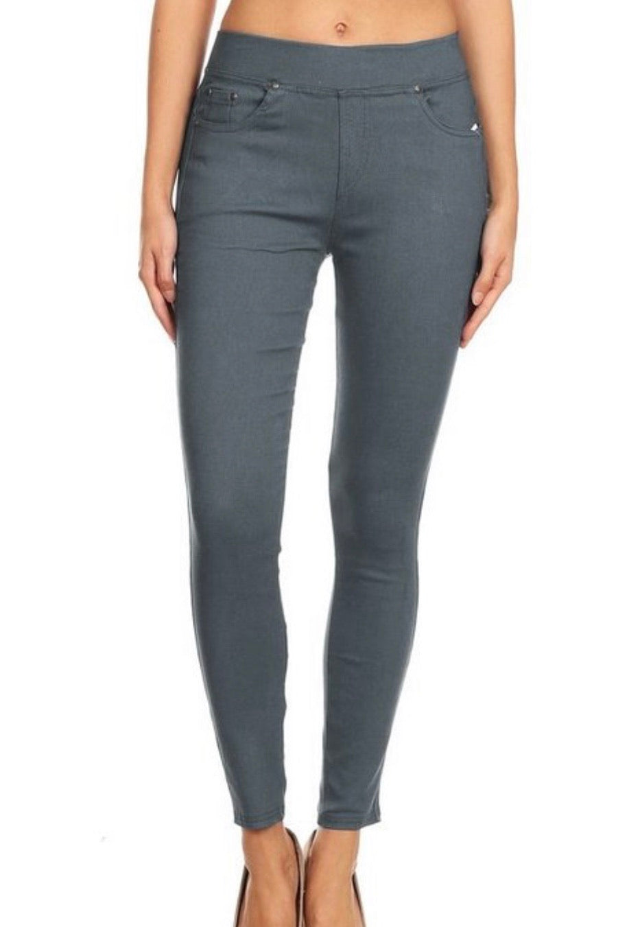 Freeland Jeggings Army Gray