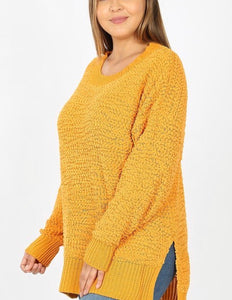 Easy Going Curvy Sweater