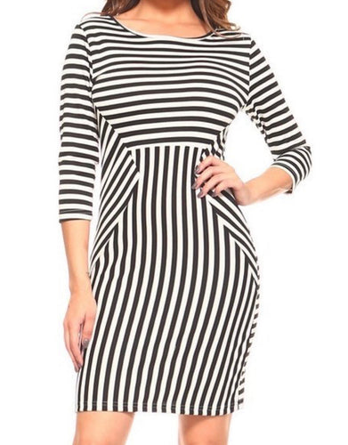 Chic Stripe Dress