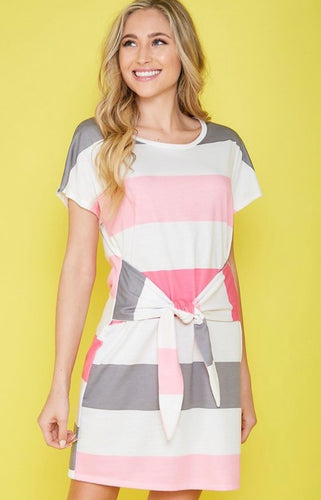 Simple Life Striped Dress