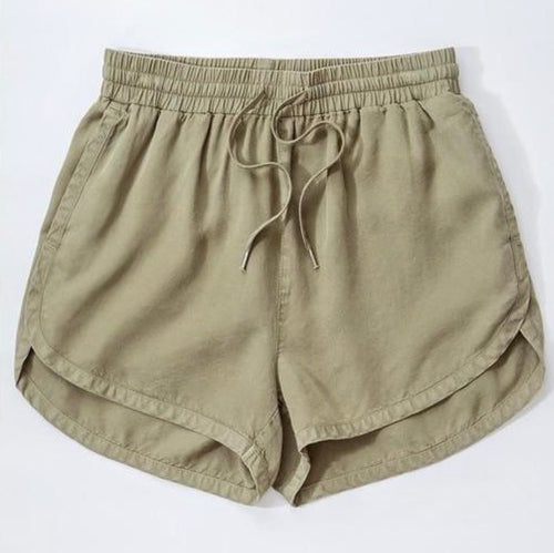 Finley Tencel Shorts {olive}