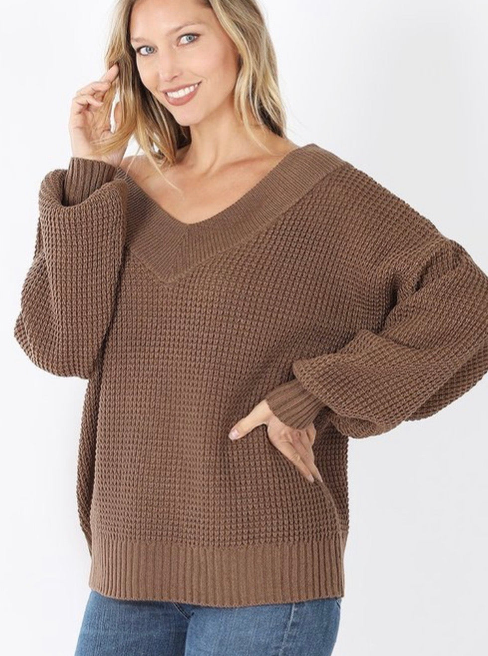 Signature Look Sweater Mocha