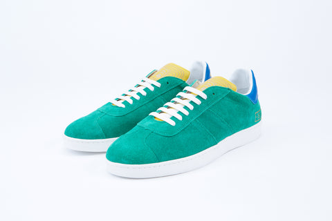 Pantofola d'Oro 1990 Suede Sneaker in Green