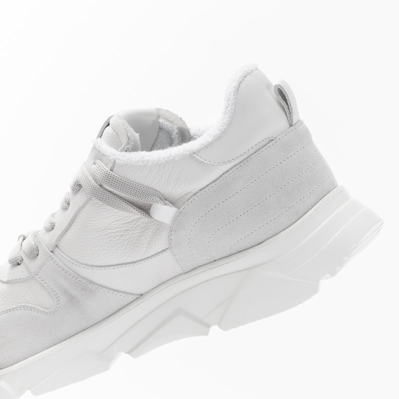 Wing leather sneakers