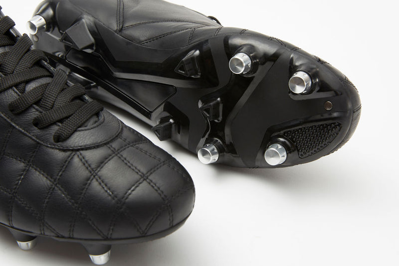 Del Duca Leather Football Boots