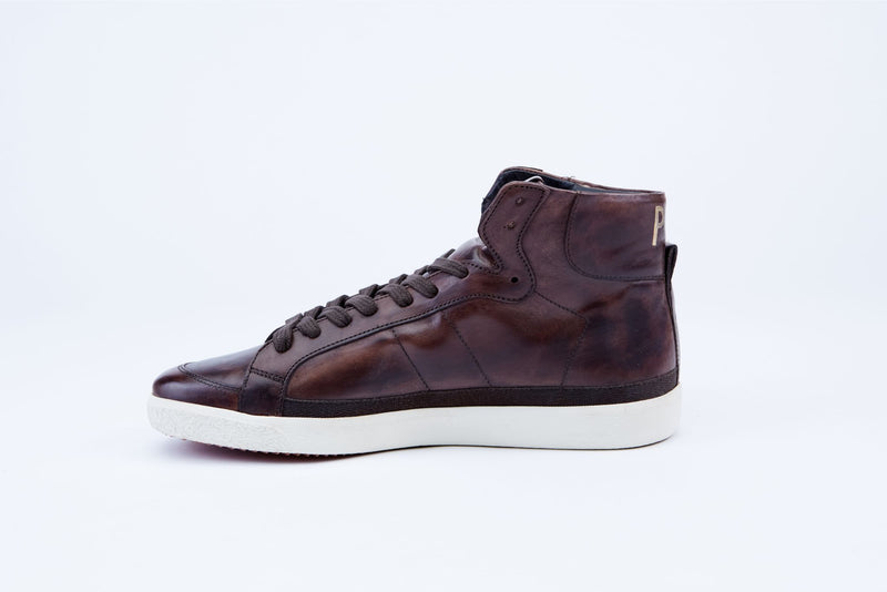 Legend High-Top Leather Sneakers