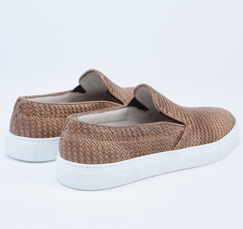 Foro Italico Slip On Leather Sneakers