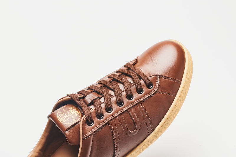 Pantofola d'Oro Open Leather Sneakers