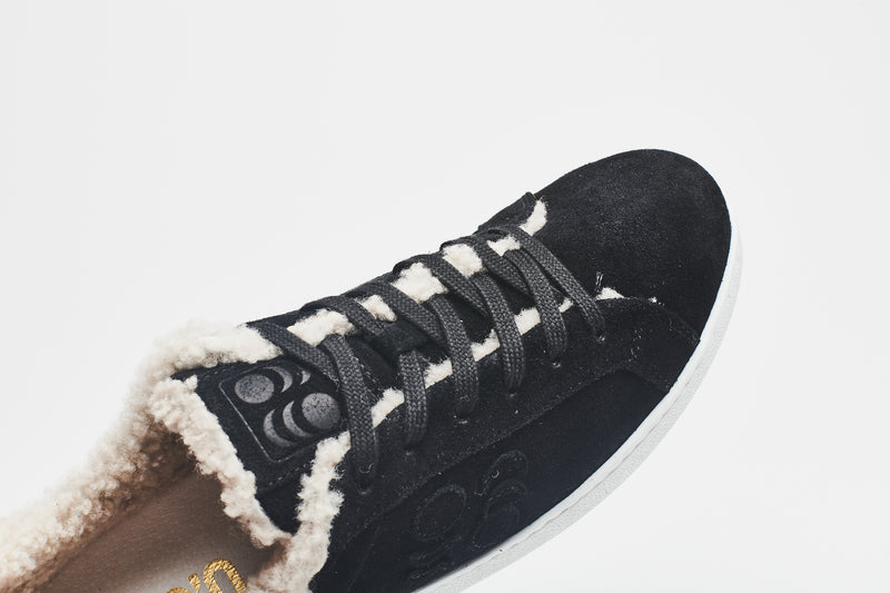 Suarez Shearling Sneakers