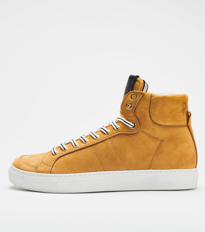 Pantofola d'Oro Top Spin High-Top Leather Sneakers
