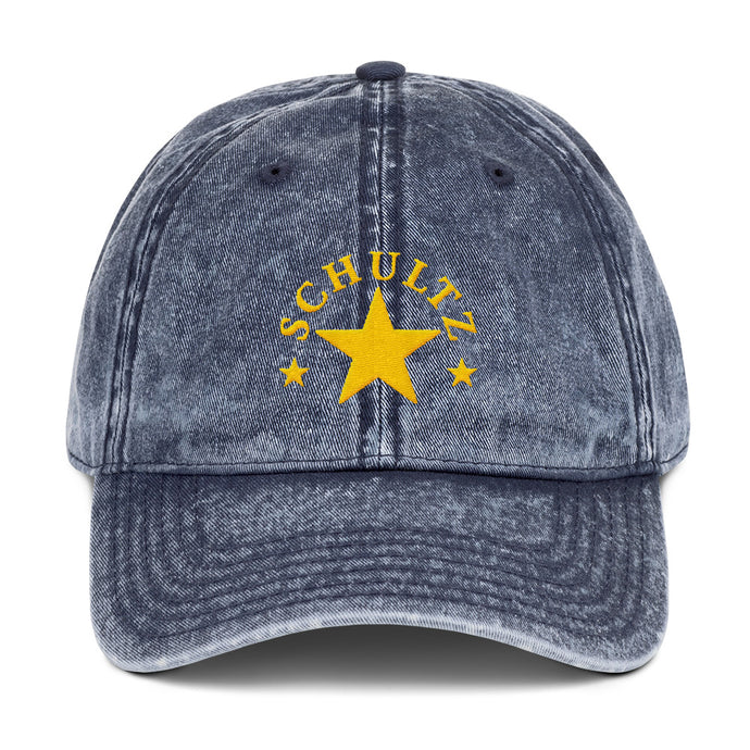 Independent centrist silent majority 2020 Howard Schultz for president dad hat cap vintage weathered washed out design campaign merchandise merch