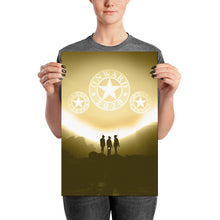 Onward 2020 Rising - Gold Themed High Quality Poster Print