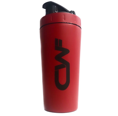 CWF 750ml Stainless Steel Shaker - Matte Red