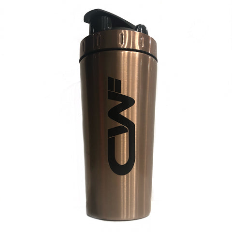 CWF 750ml Stainless Steel Shaker - Rose Gold