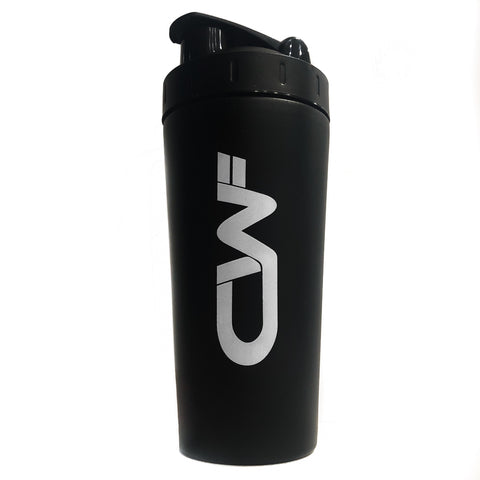 CWF 750ml Stainless Steel Shaker - Matte Black