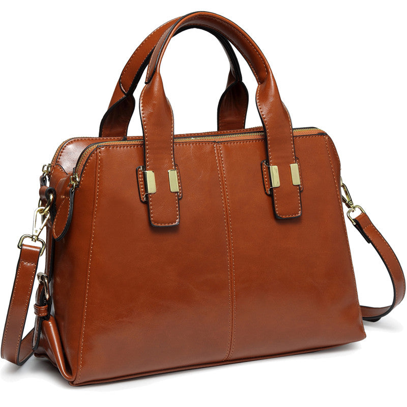 VASCHY Satchel Bag