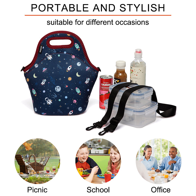 VASCHY Portable Lunch Bags