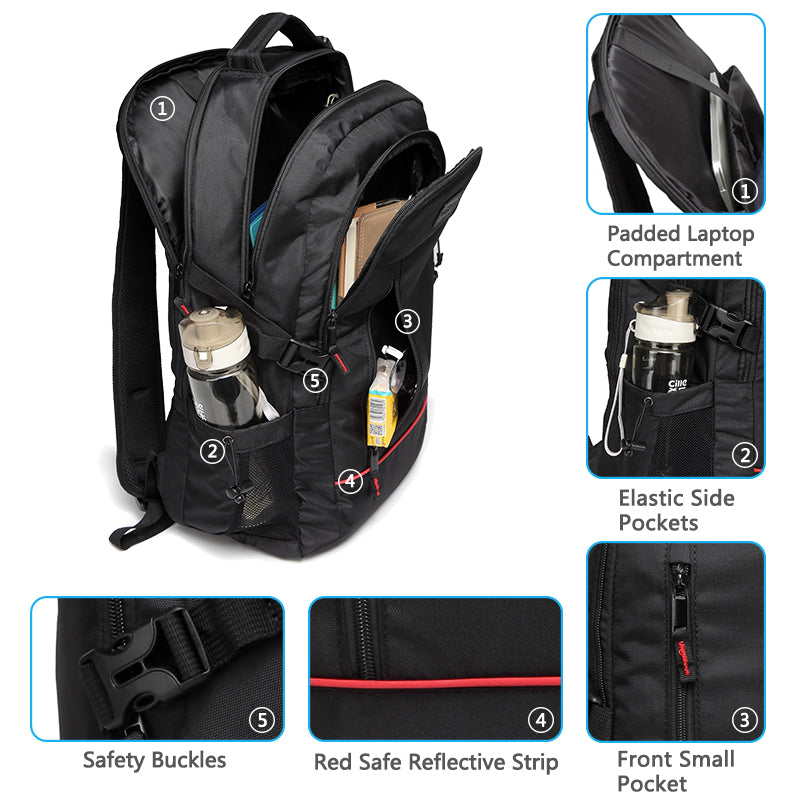 VASCHY Multi-Functional Laptop Backpack