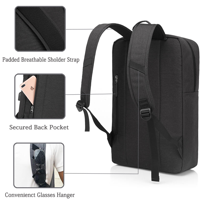 VASCHY Durable Laptop Backpack
