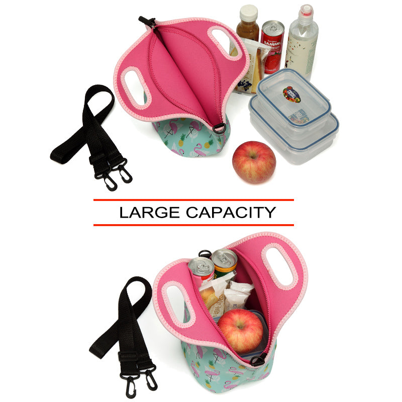 VASCHY Large Capacity Lunch Tote Bags