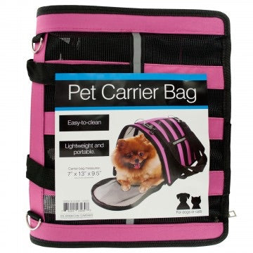 Vented Pet Carrier Bag with Reflective Strip