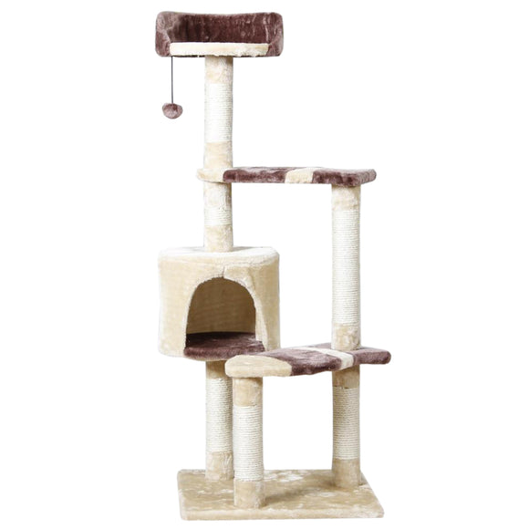 Domestic Delivery Pet Playing Toy Cat Climbing Frame Kitten House Cat Training Furniture Scratching Post Pet Product Supplier