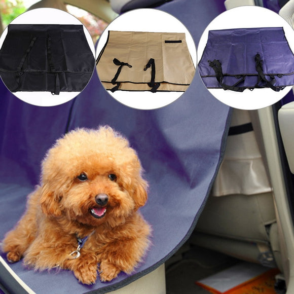 Easy To Pack Pet Dog Cat Car Rear Back Seat waterproof Carrier Cover Pet Mat Blanket Hammock Cushion Protector and clean for Car