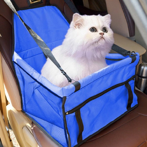 Pet Carrier Cat Car Seat Pad Safe Carry House Dog Puppy Bag Car Travel Accessories Waterproof Dog Bag Basket 45 x 35 x 25 cm