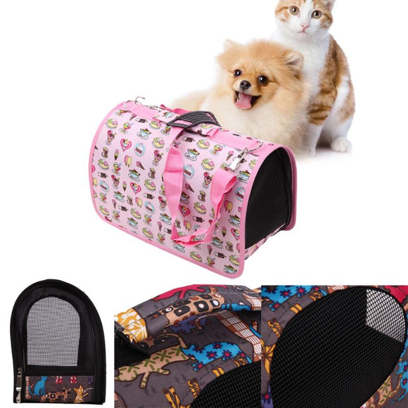 Pet Carrier Puppy Dog Cat Outdoor Travel Slings Pet Bag Dog Carrier Bags For Small Dogs Pets Portable Carriers Space Mesh Bag