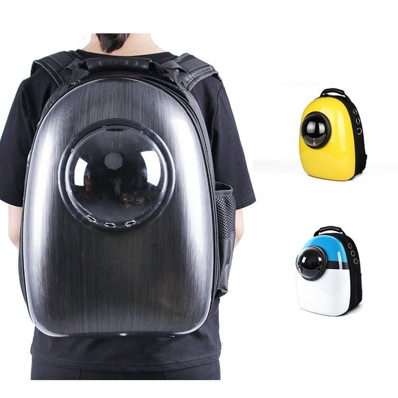 Outdoor Cat Dog Bag Space Capsule Pet Backpack for Puppy Cat Dog Carrier Transport Travel Bag