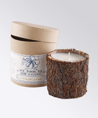 10 Straight Wharf Bark Coast Candle