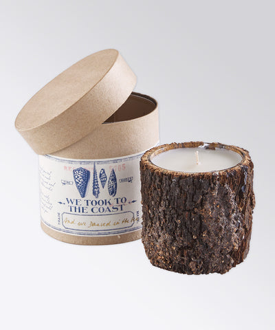 And We Danced in the Sea Bark Coast Candle