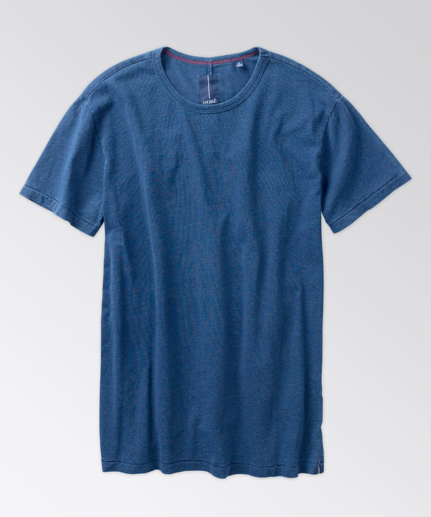 Rutherford Indigo Split-Back Tee Shirt