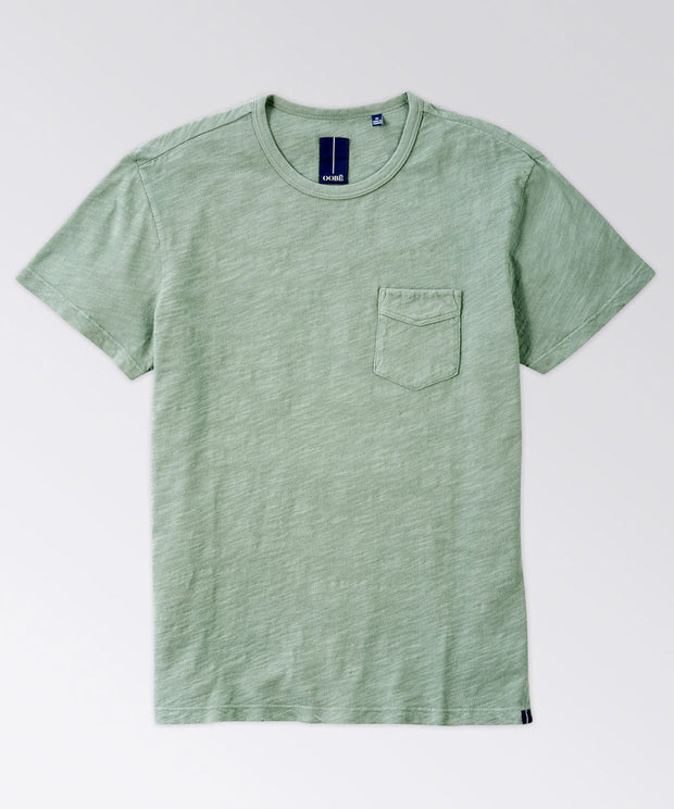 Rutherford Split-Back Short Sleeve Tee Shirt